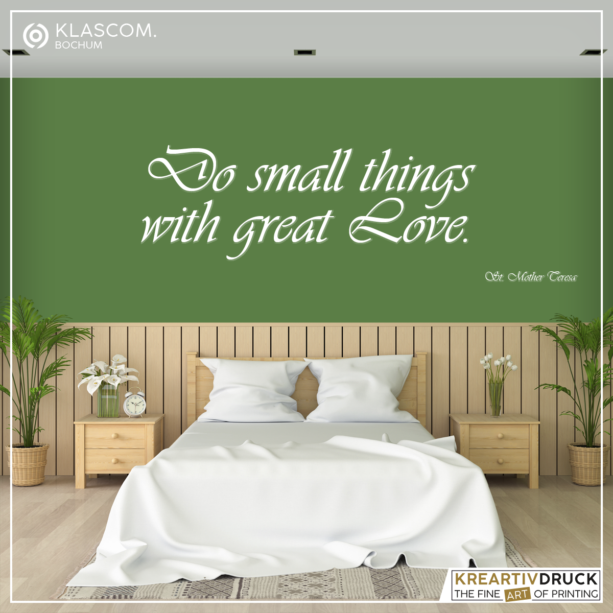 »Quotes« Wandtattoo [Wall Art], Zitate, einfarbig, ca.21x21cm