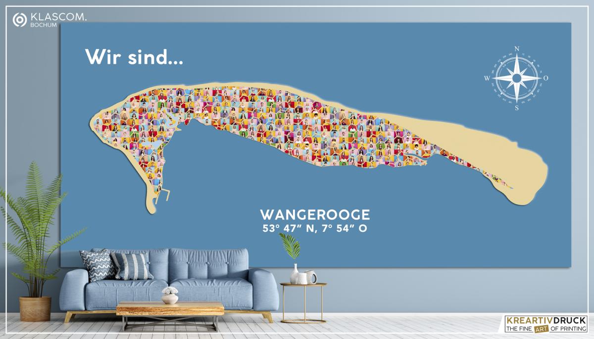 """Charity Board 2021 """"Wir sind Wangerooge"""""""
